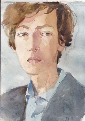 watercolour.-man-w-grey-jacket
