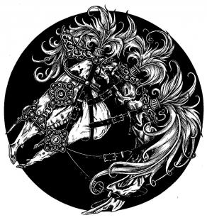 Horse-skull