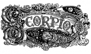 Scorpio-Black-and-White
