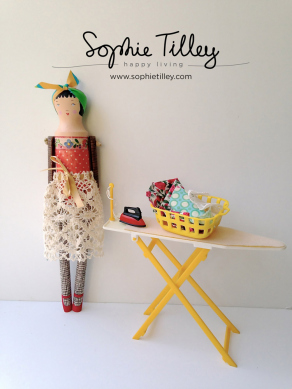 Tilly Wood Doll