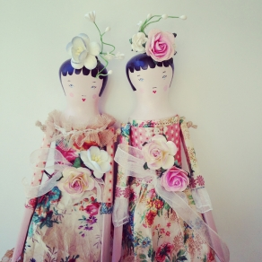wood doll summer papers