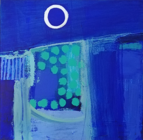 COAST-BY-MOONLIGHT-Acrylic-on-Canvas-50cm-x-50cm