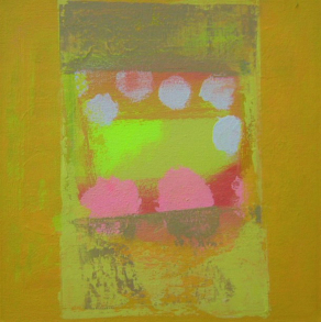 YELLOW-ABSTRACT-No1-Acrylic-on-Canvas-30cm-x-30cm