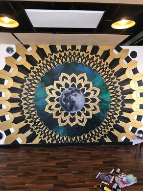 yoga-dojo-mural
